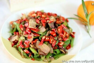 ZWHN【滋味湖南】香干腊肉 Sauteed Preserved Meat w/ Dried Bean Curd