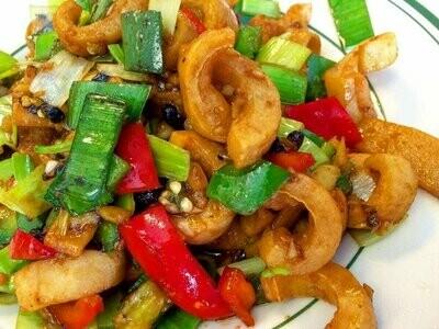 ZWHN【滋味湖南】笋干鱿鱼丝 Dried Bamboo shoot with Shredded squid