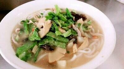 ZWHN【滋味湖南】酸辣肉丝汤粉 Hot & Sour Pork Noodles Soup or Fun Soup