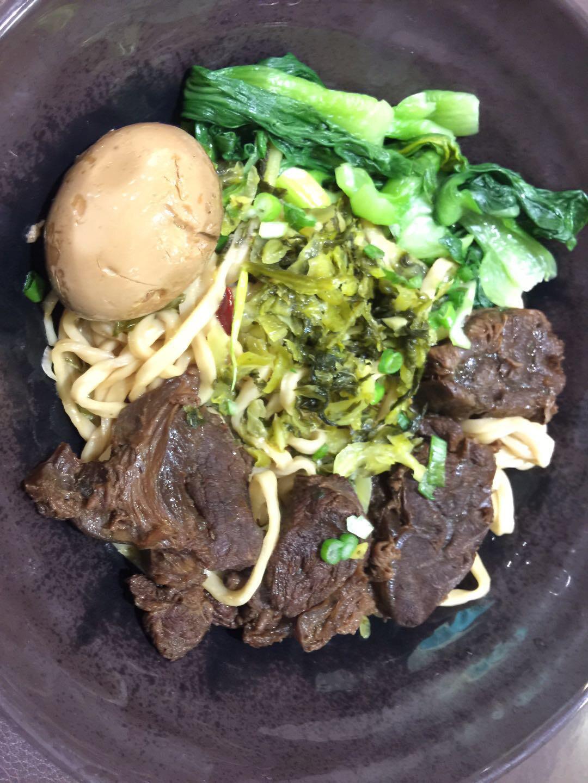 WJX【味佳香】牛肉干拌面  (每周一休息)
