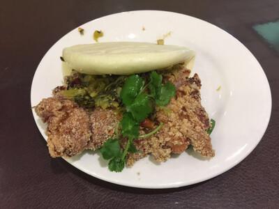 WJX【味佳香】鸡排刈包  (每周一休息)