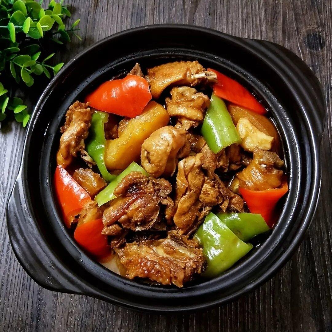 LT【龍堂】黄焖鸡米饭 Braised Chicken with Rice