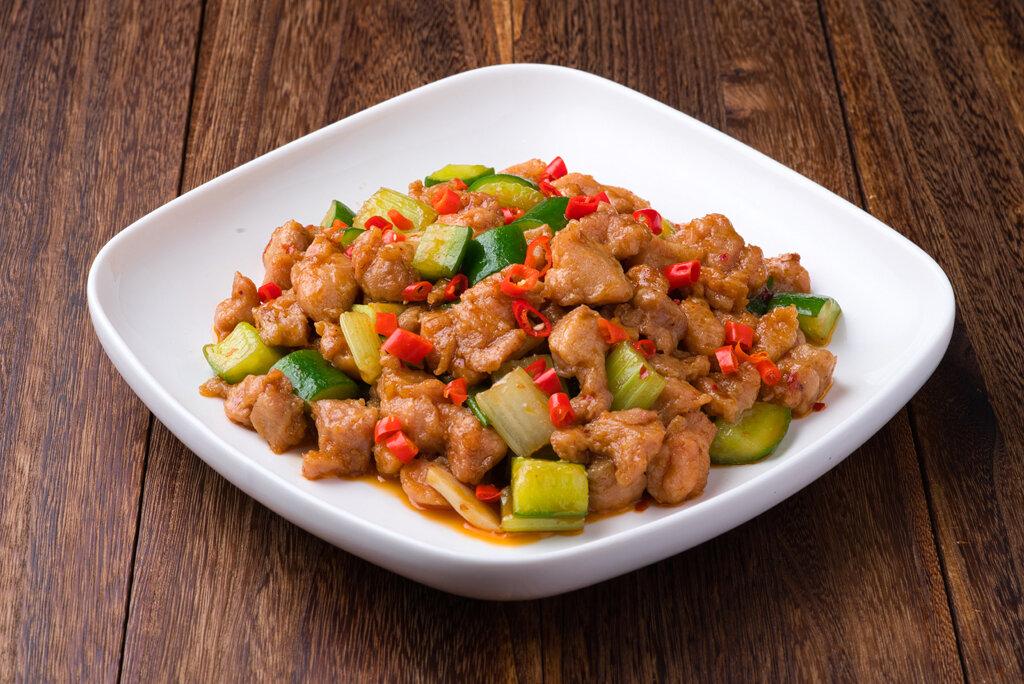 XXCT【小熊川菜CT】泡椒鸡丁 Pickled Pepper Chicken (除节假日外每周二休息)