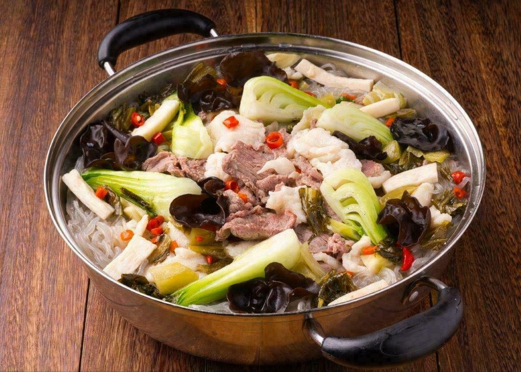 XXCT【小熊川菜CT】酸菜鱼羊锅 Sauerkraut Fish and Lamb Pot (除节假日外每周二休息)