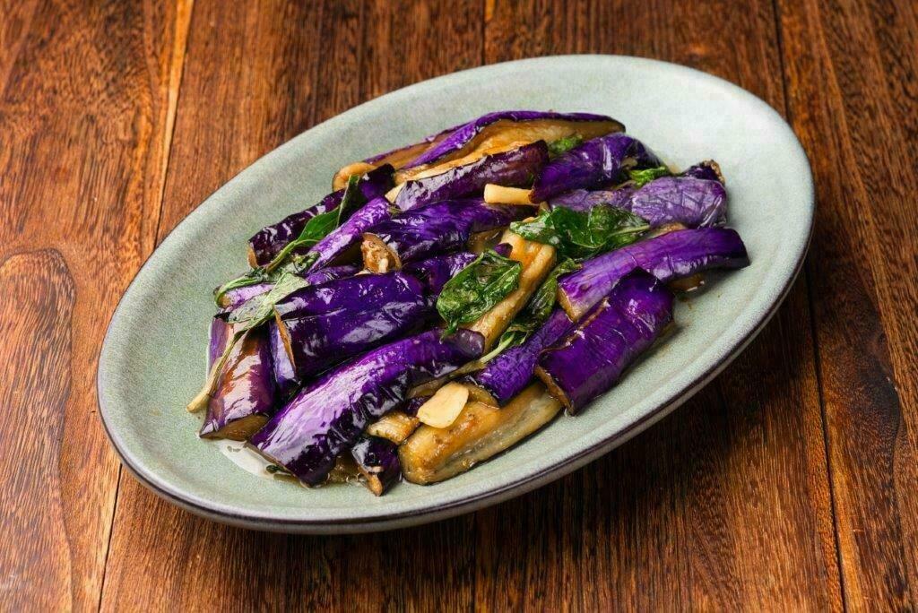 XXCT【小熊川菜CT】九层塔茄角Basil Chinese Eggplant&String Beans & (除节假日外每周二休息)