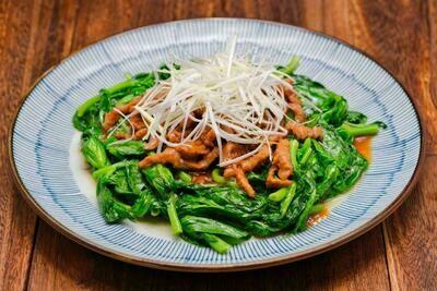 XXKT【小熊川菜KT】牛肉丝扒时蔬 Shredded Beef with Seasonal Vegetables