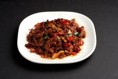 XXKT【小熊川菜KT】孜然牛肉 Cumin Beef