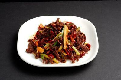 XXKT【小熊川菜KT】干煸牛肉丝 Dry Fried Beef