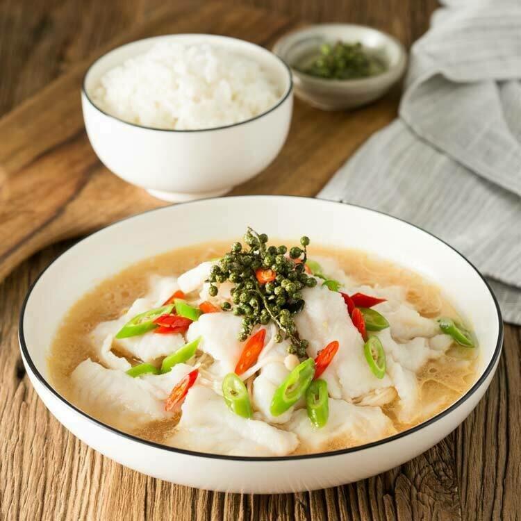 XC【湘厨】青花椒豆腐鱼片 (龙利鱼片)(周一休息)