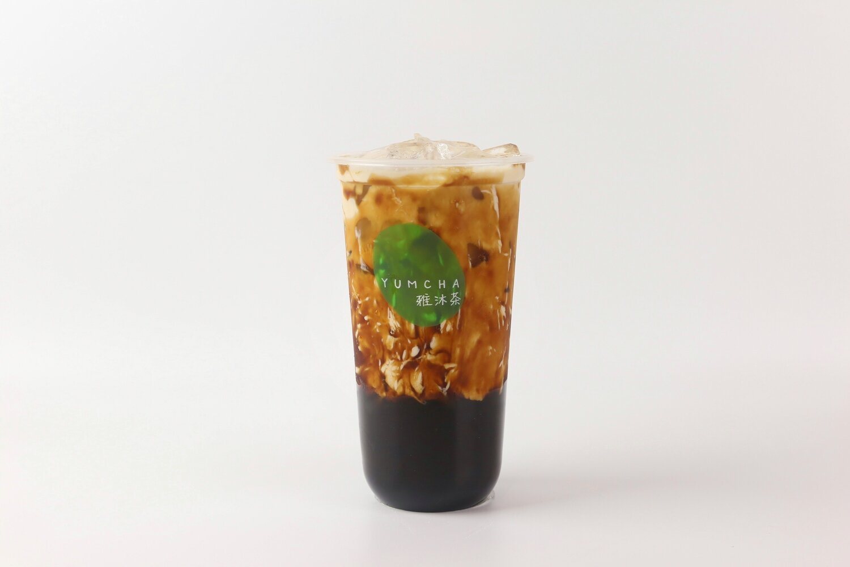 YUMCHA【雅沐茶】黑糖宝藏茶 Brown Sugar Milk Tea