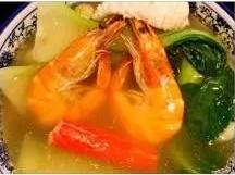 KLM【坤拉面】什锦海鲜拉面/刀削面 Seafood Ramen