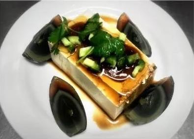 KLM【坤拉面】皮蛋豆腐 Preseerved Egg Tofu
