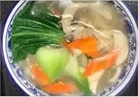 KLM【坤拉面】素菜汤拉面/刀削面 Vegetable Ramen Shaved Noodles