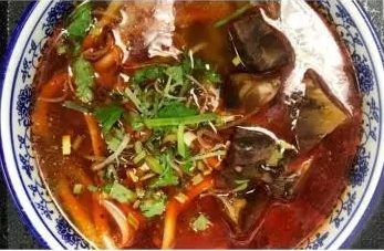 KLM【坤拉面】麻辣牛筋拉面/刀削面 Spicy Beef Tendon Ramen