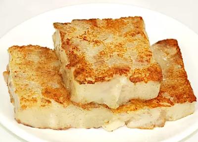 DHHX【东海海鲜】煎萝卜糕 Pan Fried Turnip Cake