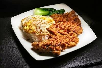 BLBQ【煲来饱去】香酥猪扒饭