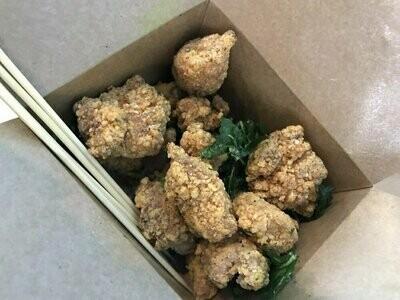 T4【清茶达人】九层塔鸡米花 Basil Popcon Chicken
