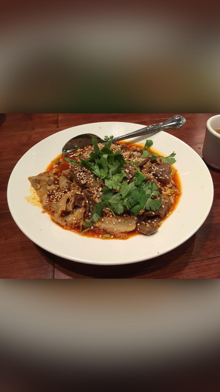 ZWCD【滋味成都】❄夫妻肺片 Couple's Sliced Beef in Chili Sauce (周二休息,晚餐不配饭)