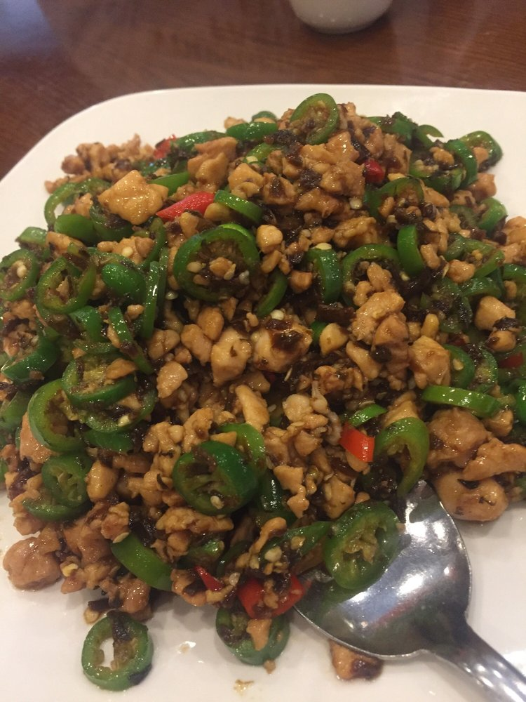 ZWCD【滋味成都】鸡米芽菜 Minced Chicken with Pickled Vegetable (周二休息,晚餐不配饭)