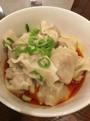 ZWCD【滋味成都】红油抄手 Wonton with Red Chili Sauce (周二休息,晚餐不配饭)