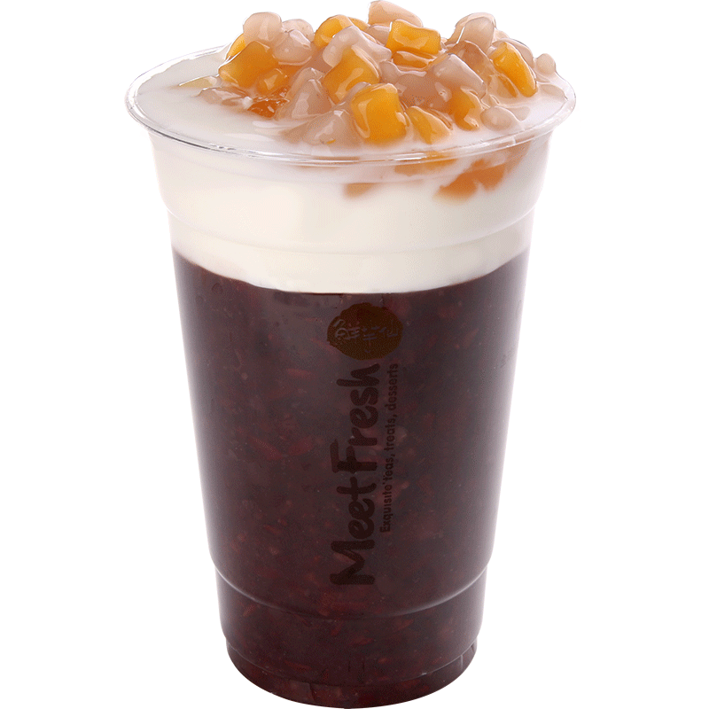 XYX【鲜芋仙】紫米小芋圆 Purple Rice Drink w/Mini Taro Ball & Fresh Milk
