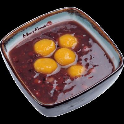XYX【鲜芋仙】芋薯圆紫米粥 Purple Rice Soup w/Sweet Potato Taro Ball