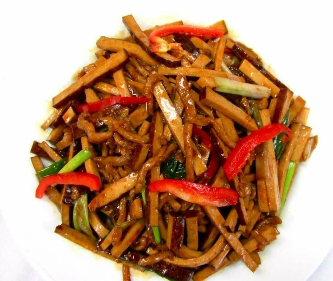 DYC【独一处】香干肉丝 Shredded Pork w/Dried Bean Curd