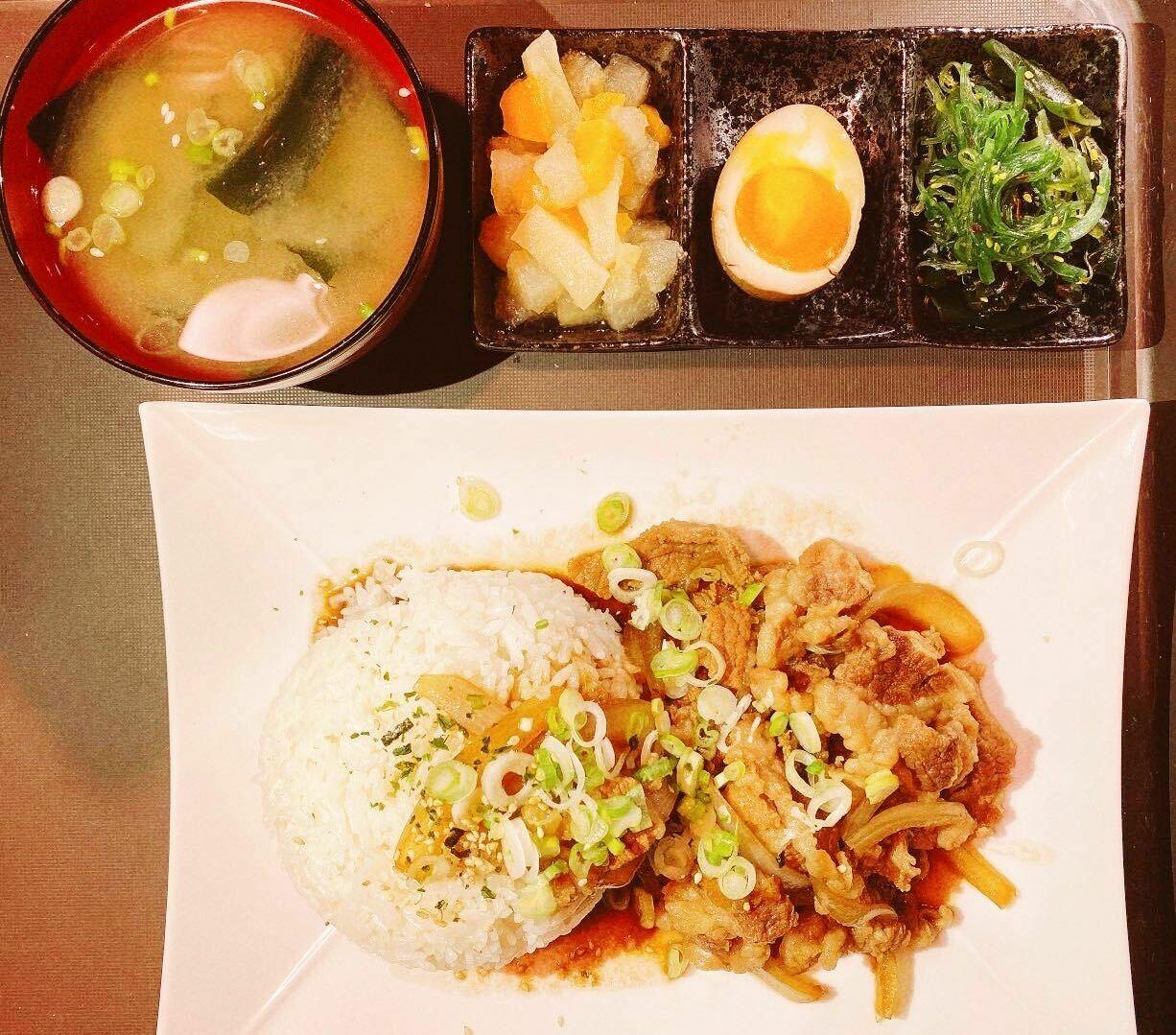 RHW【日和屋】牛肉饭套餐(周一休息)