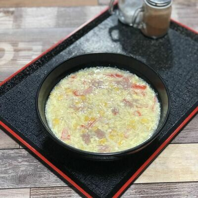 LT【龍堂】玉米海鲜羹 Seafood Sweet Corn soup w/egg