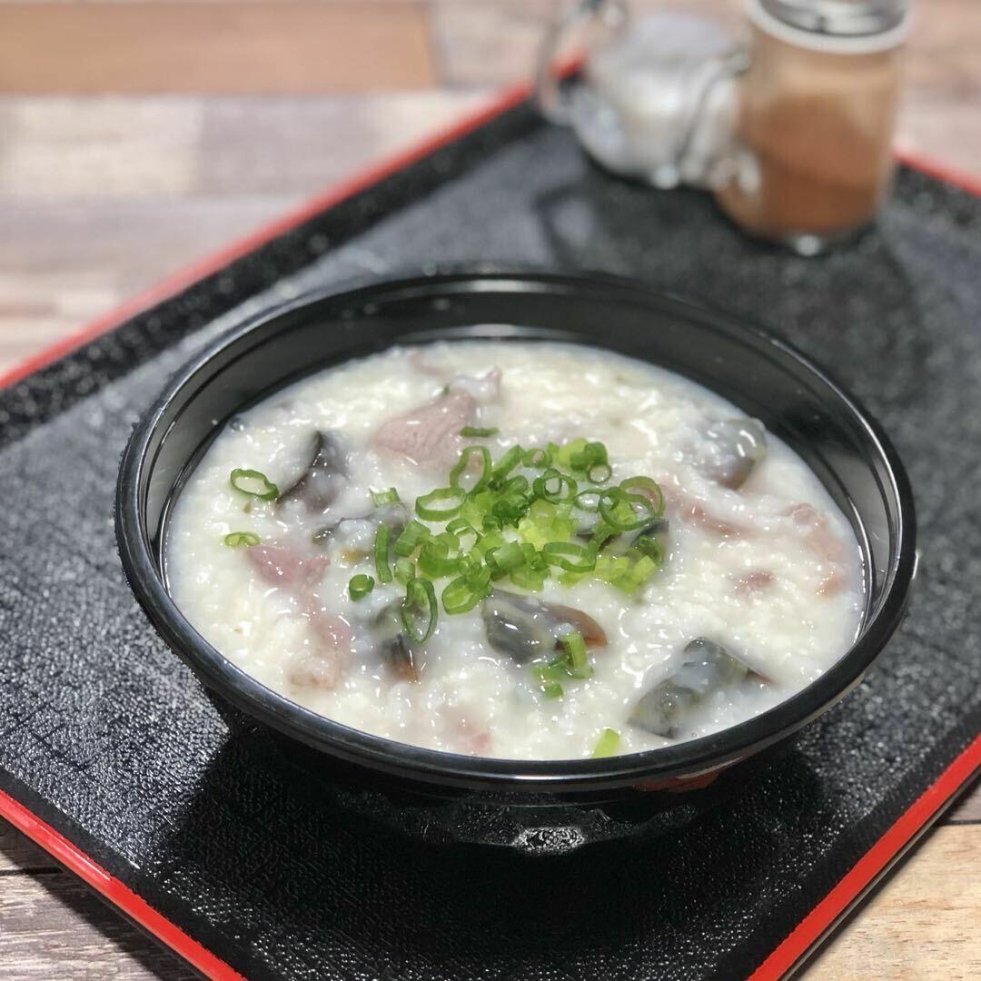 LT【龍堂】皮蛋瘦肉粥 Congee w/Pork&preserved egg