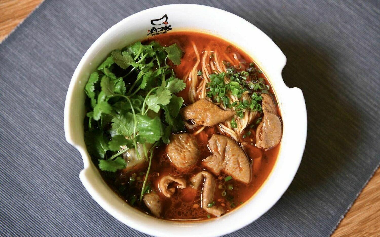 LKS【流口水】肥肠火锅面 Intestine Hot Pot Noodle
