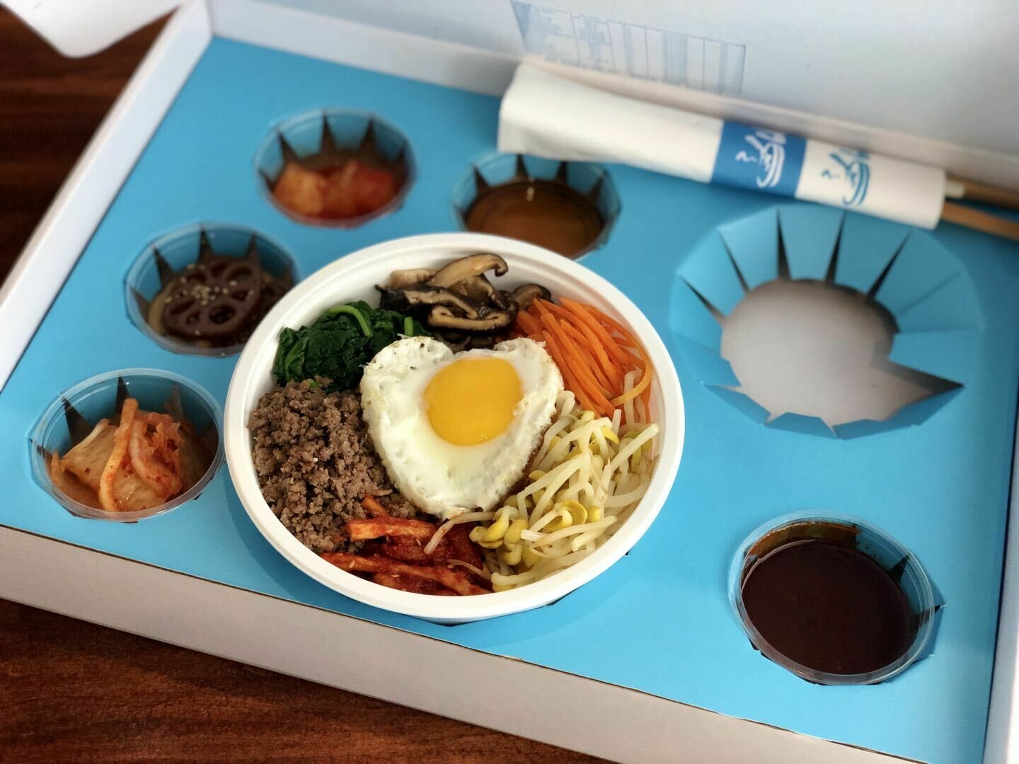 【Asia Blue】韩式拌饭 Korean Bibimbap Set