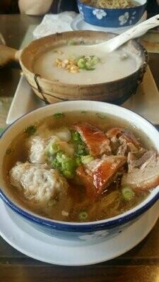 XGSJ【香港食街】水饺火鸭汤面 Dumpling Noodle w/ Roasted Duck