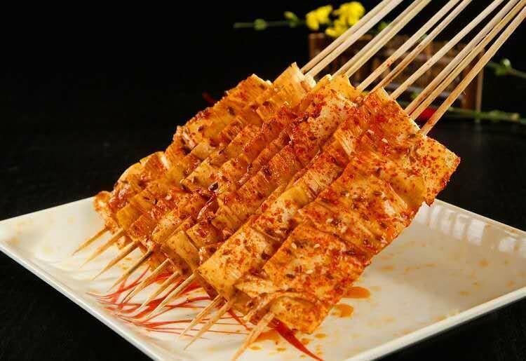 XJSK【新疆烧烤】烤牛板筋(5串)
