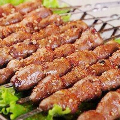 XJSK【新疆烧烤】烤鸡心串(10串)