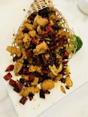 JNC【江南村】香辣鸡丁Chicken w/ Hot & Spicy Sauce (Closed Tuesday)