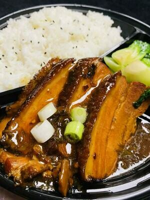 XSY【小沈阳】梅菜扣肉饭配菜