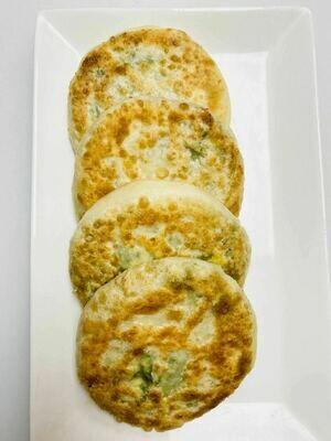XSY【小沈阳】韭菜鸡蛋馅饼(4个)