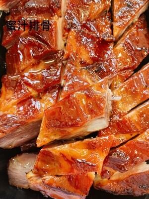 CWKT【常旺烧腊】蜜汁排骨BBQ Spare Rib (1 lb)