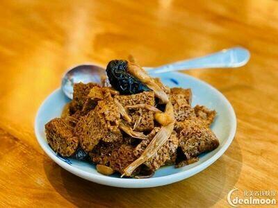 XZH【湘浙汇】四喜烤麸 Marinated Bran Dough with Peanuts with Black Fungus (每周一休息)