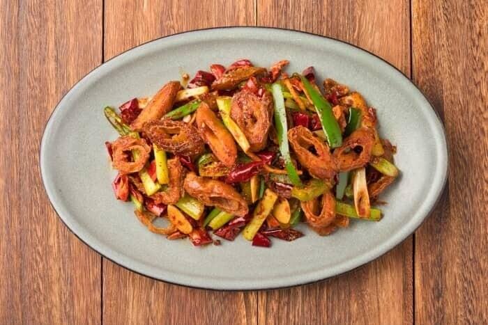 XXCC【小熊川菜】干煸肥肠 Dry Fried Pork Intestines (每周二休息)