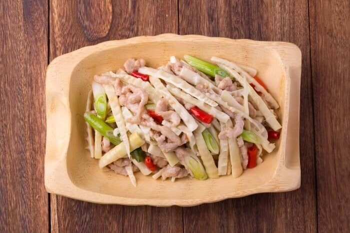 XXCC【小熊川菜】笋尖肉丝 Shredded Pork with Bamboo Shoots (每周二休息)