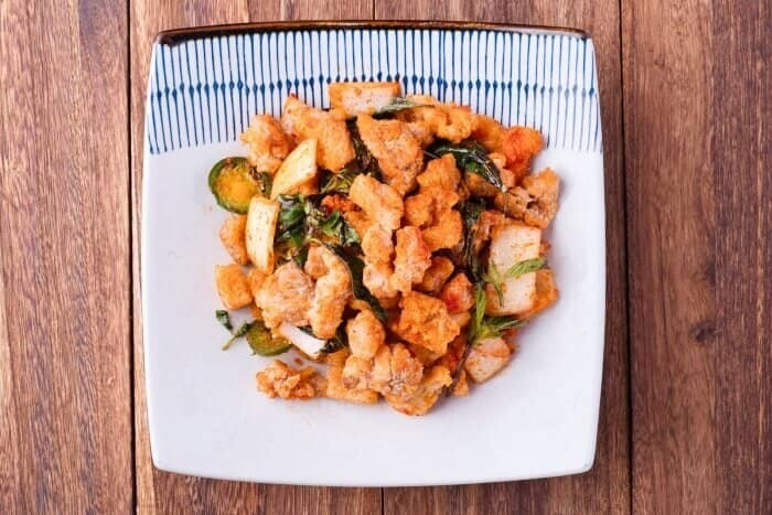 XXCC【小熊川菜】九层塔盐酥鸡 Basil Crispy Chicken (每周二休息)