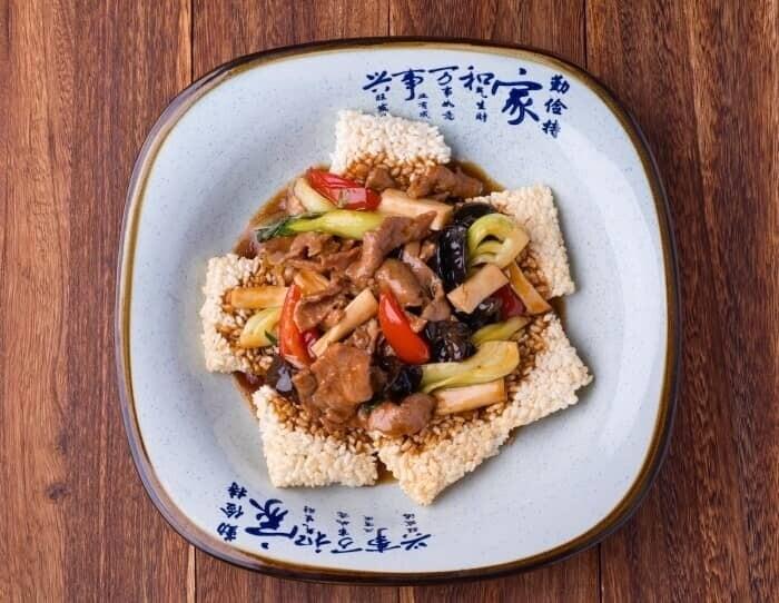 XXCC【小熊川菜】劲爆锅巴肉片 Sizzling Rice Cracker Pork (每周二休息)
