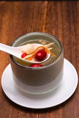 XXCC【小熊川菜】滋补虫草花鸡汤 Nourishing Chicken Soup with Cordyceps Mushroom (serves 1) (每周二休息)