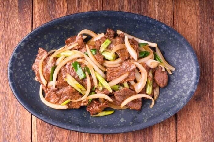 XXCC【小熊川菜】葱爆牛肉 Mongolian Beef (每周二休息)