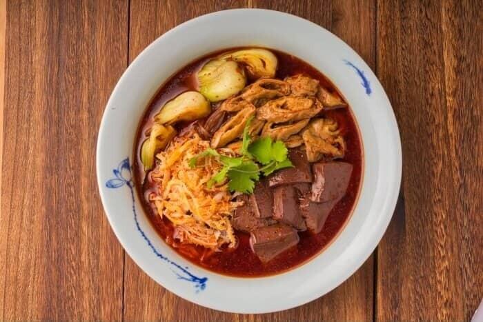 XXCC【小熊川菜】乡村毛肠旺 Country Style Blood Curd Dish (每周二休息)