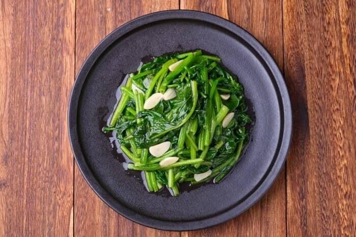 XXCC【小熊川菜】炒菠菜 Sauteed Spinach (每周二休息)