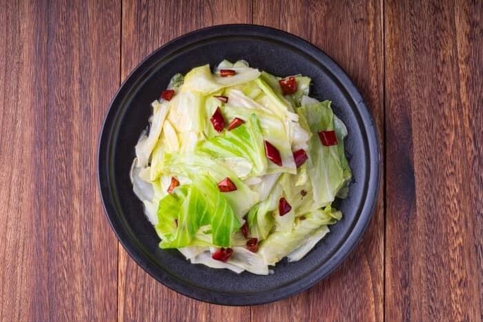 XXCC【小熊川菜】炒莲白菜 Sautéed Cabbage (每周二休息)