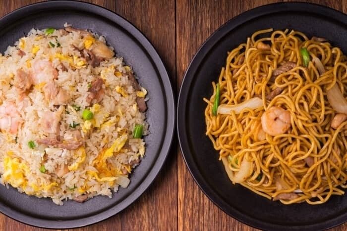 XXCC【小熊川菜】什锦炒饭/面 Combination Fried Rice or Chow Mein(每周二休息)